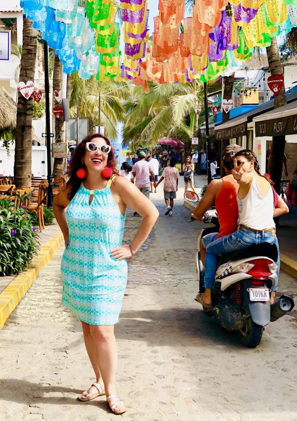 Sayulita is a charming boho chic town in the Riveria Nayarit region of Mexico. It's a colorful city with a welcoming vibe and fab artisanal shopping