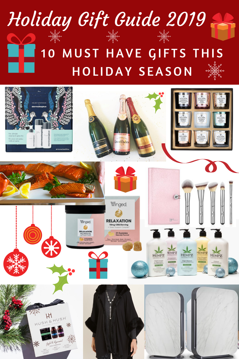 Following are my 10 must have gifts this holiday season. Whether it's for the beauty junkie, your stressed out bestie or the health enthusiast, I've got you covered!