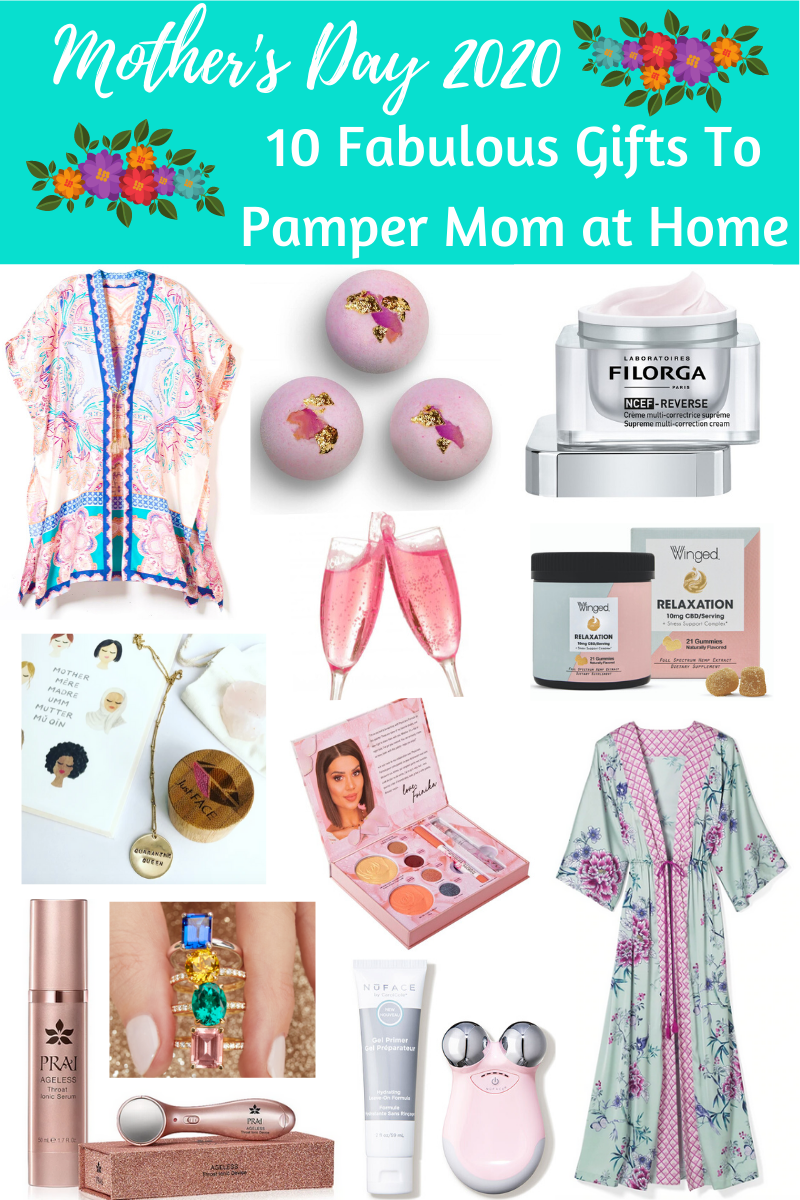 In celebration of Mother's Day 2020, I've curated 10 fabulous and inspired gift ideas that will pamper, indulge and help mom relax at home