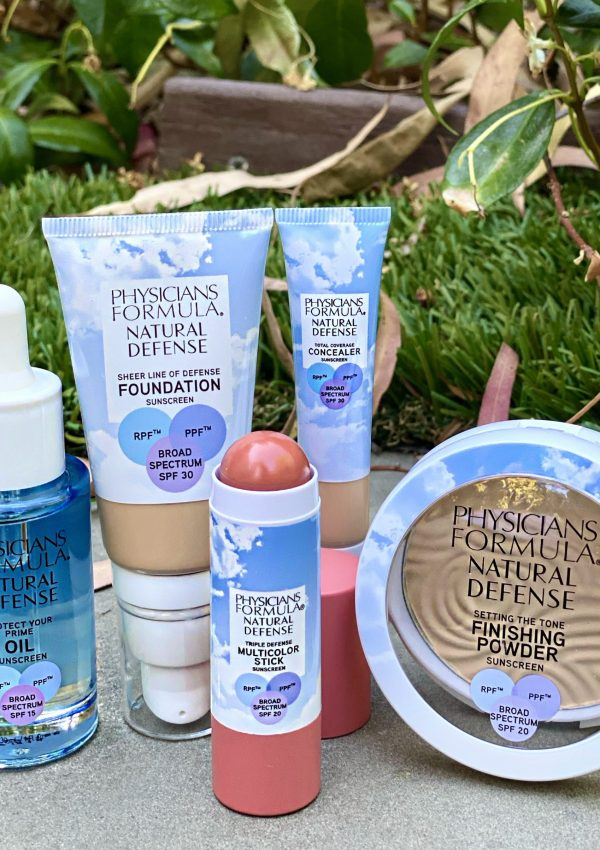 Physicians Formula Natural Defense make-up meets SPF products are perfect for protecting your skin from UV, blue light & environmental pollution this summer
