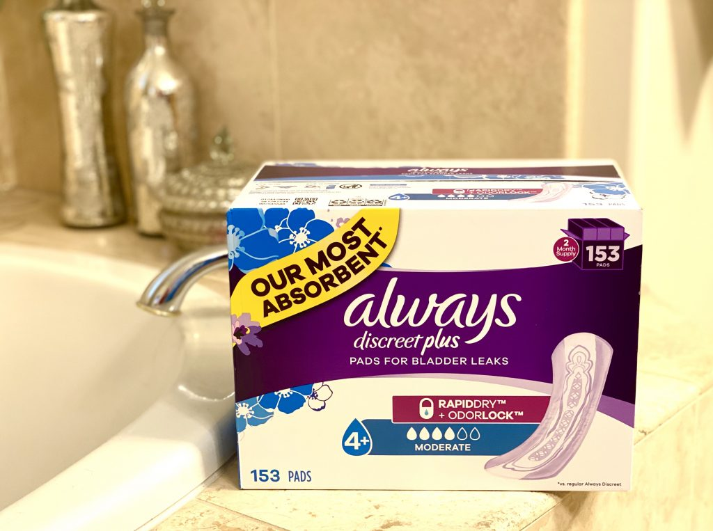 Just in time for summer, Sam's Club has got you covered with their value sized pricing of Always Discreet pads & liners that protect you from bladder leaks